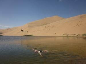 Yeah, life in the desert is very hard, trust me.